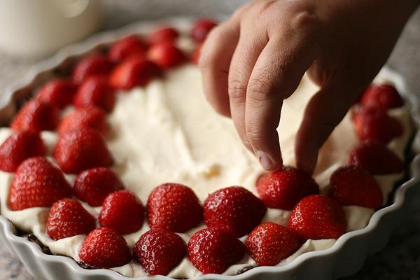 Jordbærtærte opskrift