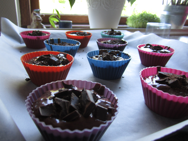 chokolademuffins opskrift