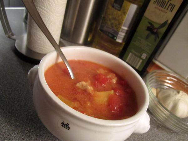 Ferskensuppe - Sund opskrift på krydret karry suppe med kylling
