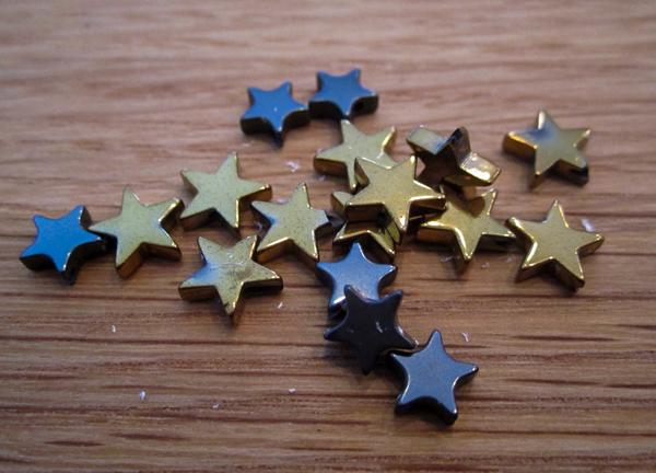 stjerne smykke vedhæng til diy armbånd