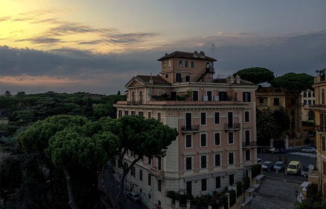 hotel i rom