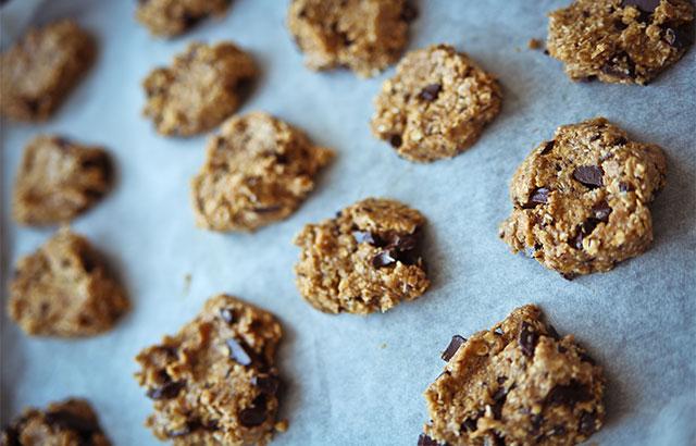 chokolade cookies uden smør